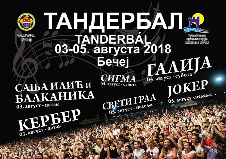 Tanderbal 2018. program