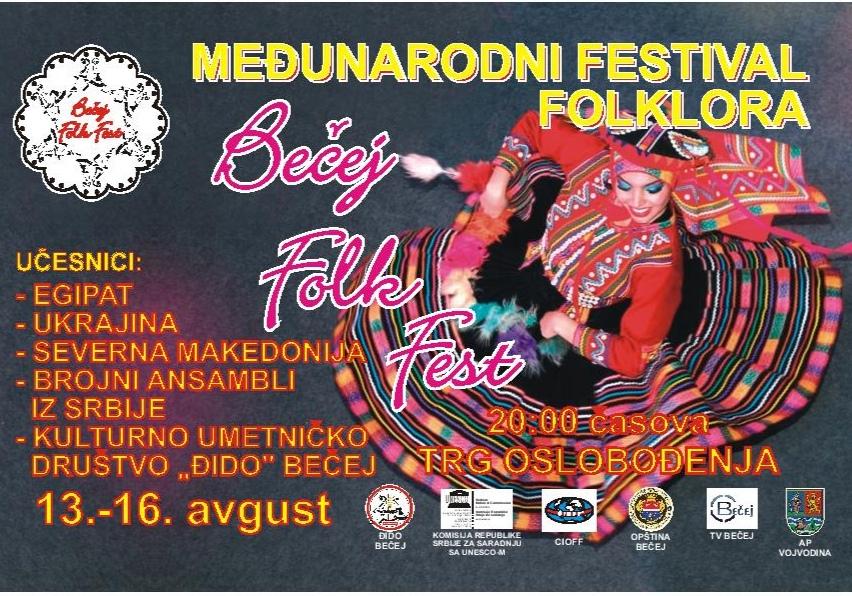 """Počinje šesti """"Bečej folk fest"""" !"""
